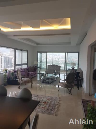 Achrafieh 4748 330 Sqm Furnished Apartment For Rent 17th Floor Beirut Lebanon