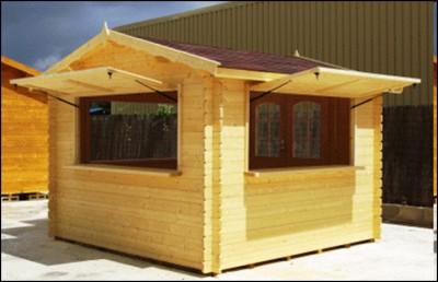 Prefabricated wooden house beirut lebanon ahlein for Kioscos de madera baratos