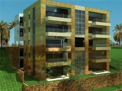 Apartment for sale magnificent ocean sea view in Jbeil